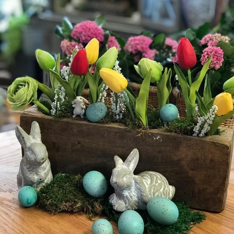 Beautiful 30 Easter centerpiece ideas