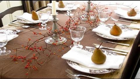 fall decor tablescape ideas