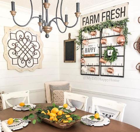 beautiful farmhouse decor for summer home tour