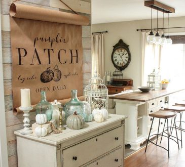gorgeous fall touches decor ideas.