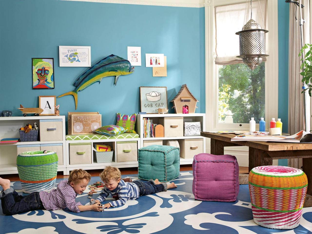 5 Tips for designing a friendly living room for your child