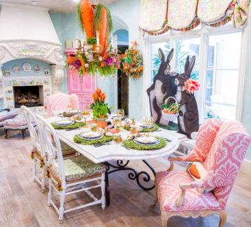 Gorgeous festival Easter home tour galore!!