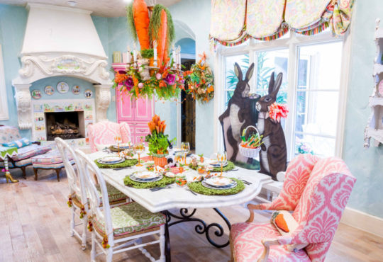 Gorgeous festival Easter home tour galore!!