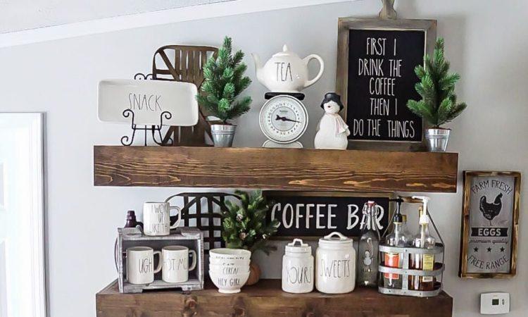 Coffee Bar Christmas Decorating Best Ideas